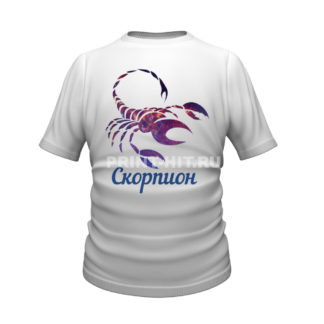футболки знаки зодиака скорпион