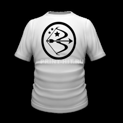 футболка знак зодиака стрелец