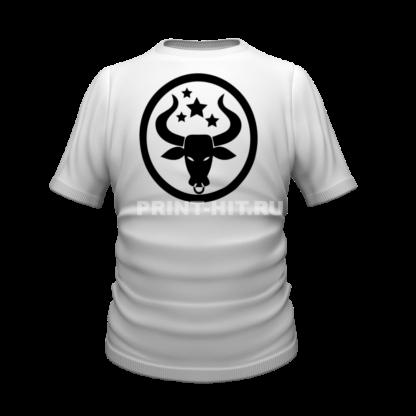 футболка знак зодиака телец