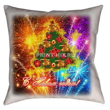 подушки под заказ новый год