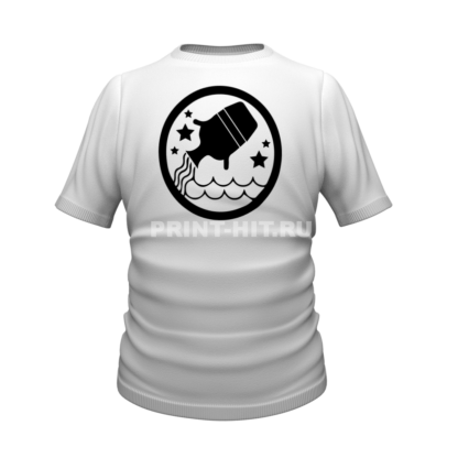 футболка знак зодиака водолей