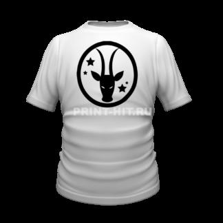 футболка знак зодиака козерог