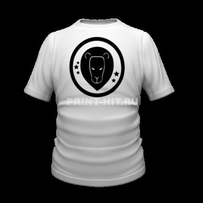 футболка знак зодиака лев
