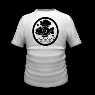 футболка знак зодиака рыбы