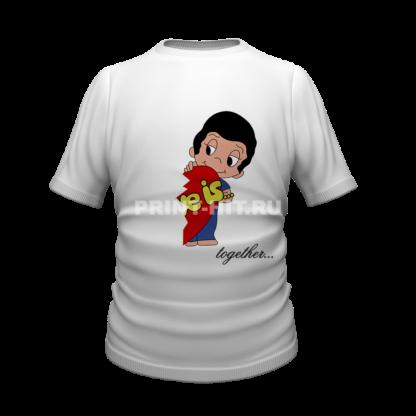 футболка парная для двоих 4