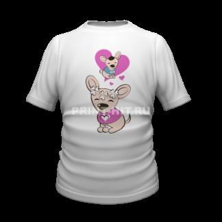 футболка парная для двоих 24