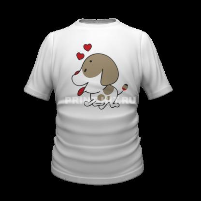футболка парная для двоих 47