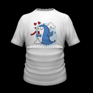 футболка парная для двоих 43
