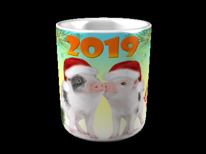 кружка на новый год 2019 10